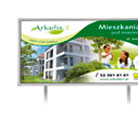 Baner, billboard - Arkadia 2